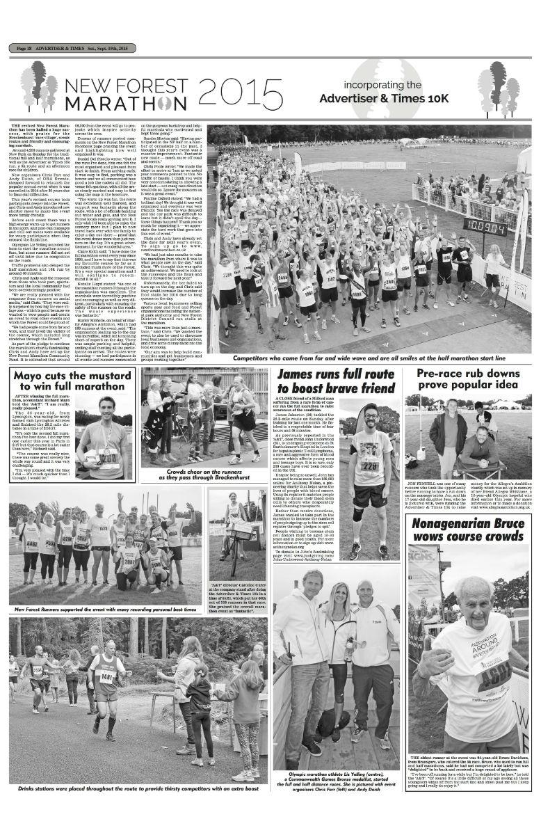 38 page 18 & 19 Marathon